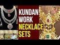 Mango Design Necklace Sets With Kundan Work ||  Andham Abharanam || Vanitha TV