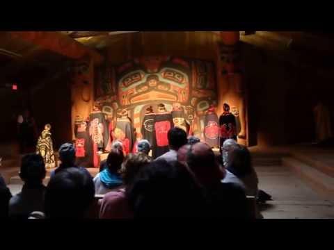 Tlingit Song & Dance II - Saxman Native Village Ketchikan Alaska August 2014