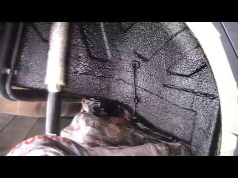 Lada Vesta. Обработка колесных арок жидкими подкрылками