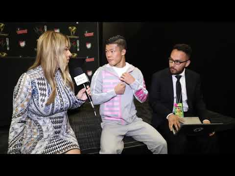 """TOMOKI KADEMA """"I'M MORE MEXICAN THAN REY VARGAS, HE WAS RUNNING THE WHOLE FIGHT, NOT MEXICAN STYLE"""""""