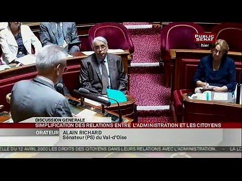 Projet de loi - simplifier les relations entre l'administration et les cito... - SEANCE (17/07/2013)