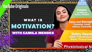 Camila Mendes Explains The Science of Motivation | Celebrity Substitute