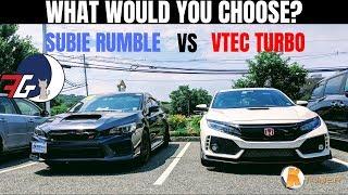 Battle: Honda Civic Type R (FK8) VS 2018 Subaru WRX Sti Comparison | Which is Better?