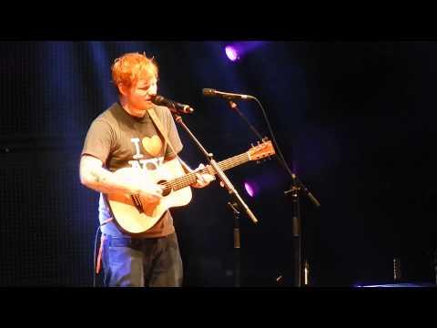 "Ed Sheeran's NEW song ""New York"" MSG 11/1 HQ"