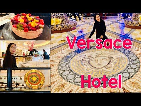 PALAZZO VERSACE SUMPTUOUS BUFFET DINNER || VERSACE HOTEL Gold Coast Australia Queensland