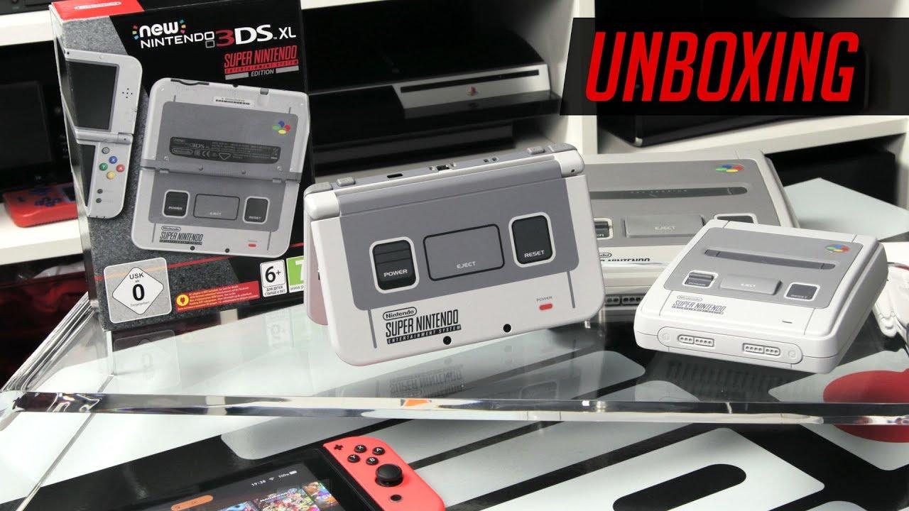 3ds xl console snes edition