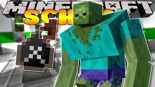 Minecraft School - EXPERIMENT GONE WRONG!