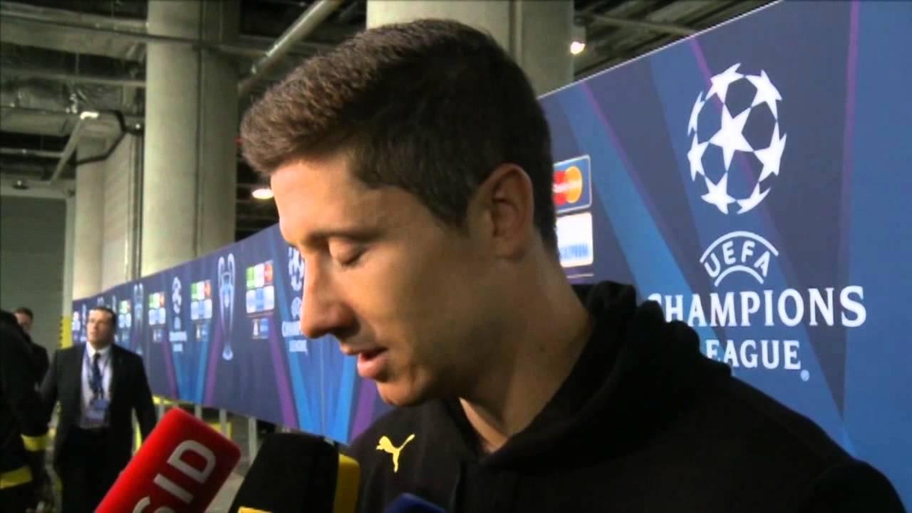 Wechsel zum FC Bayern fix Lewandowski hält sich bedeckt