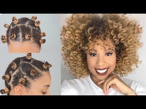 Bantu Knots On Short Thin Natural Hair