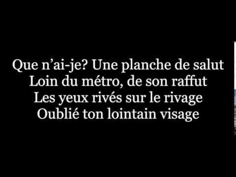 Ton visage-Fréro Delavega(lyrics)