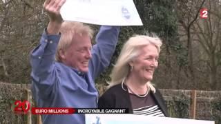 Un couple d'Anglais gagne pour la deuxième fois à l'Euro Million