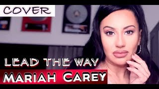 Cover images LUCIA SINATRA singing Lead the way (Mariah Carey)