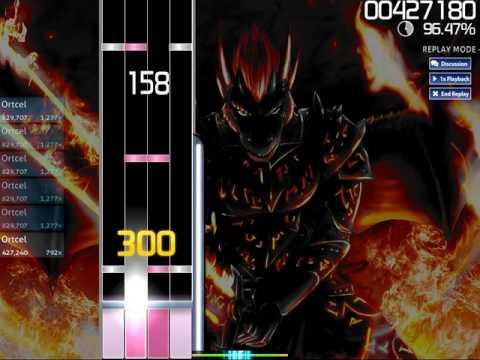 [osu!mania] [4K] DragonForce - Symphony of the Night - Rank S