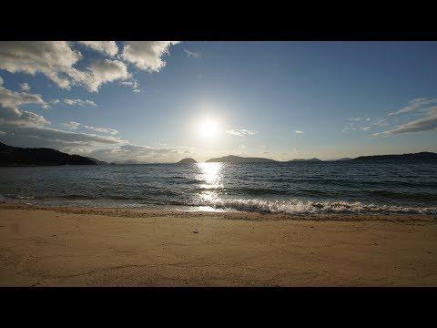 Setouchi-inland sea Aoki Saluki Hiroshima island Kagawa prefecture Japan Insta360 One X