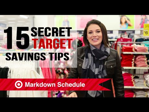 15 Target Couponing Tips & Shopping Secrets Revealed!