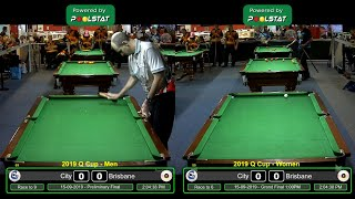 2019 Q-Cup Mens  8 Ball Teams - Grand Finals