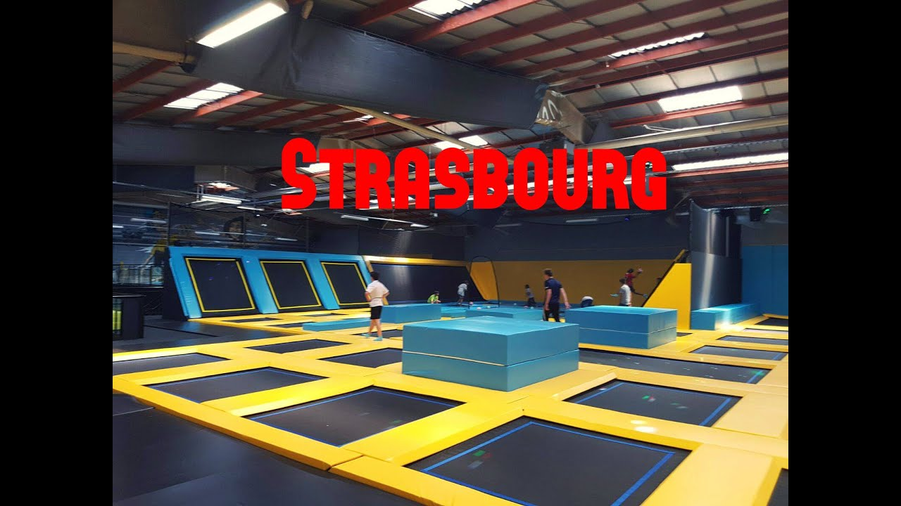 1 pr sentation du trampoline park de strasbourg youtube. Black Bedroom Furniture Sets. Home Design Ideas
