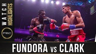 Fundora vs Clark HIGHLIGHTS: August 31, 2019 — PBC on FOX