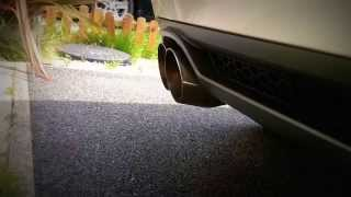 audi a3 8p 2 0tdi custom exhaust