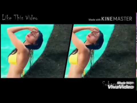 Topless Hot & Sexsy Alia Bhatt kissing & Dancing vs Sunny Leaone hot videos   kiss video