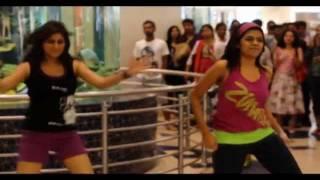 flash mob at hyderabad gvk one on 11 dec 2011 shrifx