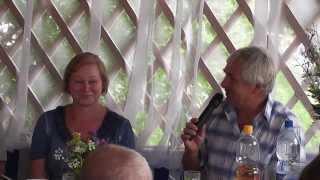Фарфоровая свадьба Гавриловых 2013г