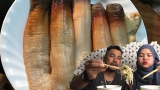 Vlogs114||Cách làm ốc vòi voi , Ăn gỏi ngó sen ốc vòi voi và ăn cháo ốc vòi voi