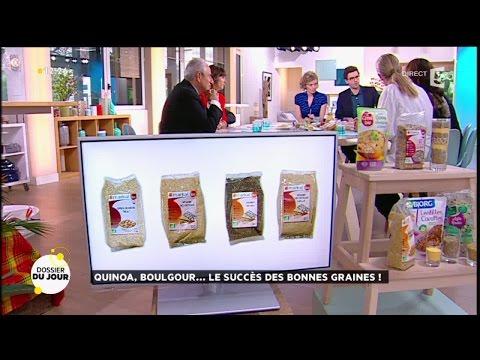 Dossier du Jour : Quinoa, boulghour... le succès des bonnes graines !