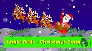 Jingle Bells Song | Christmas Carol | Children Nursery Rhymes