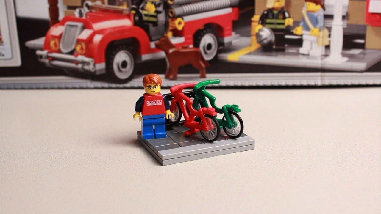 Lego Tutorial How To Build A Bike Rack Youtube