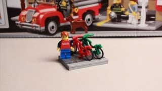 How To Build A Lego Bike Rack (stand)