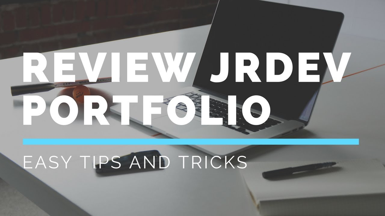 Reviewing a JR Web Developers Portfolio | #CodingPhase