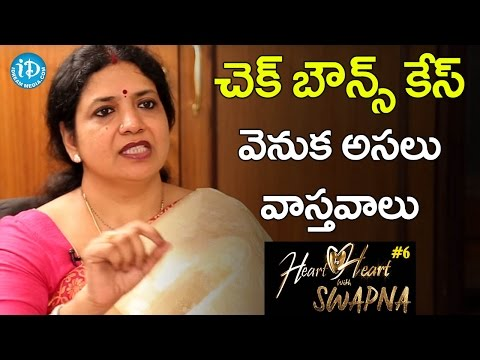 Jeevitha Reveals The Real Facts Behind the Check Bounce Case || Heart To Heart With Swapna