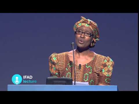 "IFAD Lecture: Winnie Byanyima, ""The Future of Aid"""