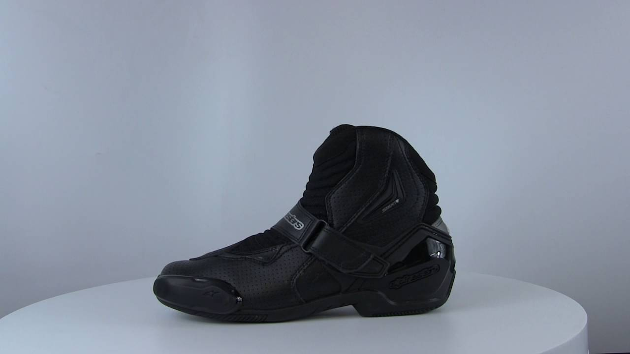 Black//White//Yellow Size 48 Alpinestars SMX-1R Vented Boots