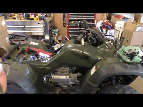 Honda Rancher 2006 TRX350TE Replacing Carburetor By KVUSMC