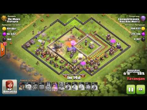 Legends League / Popular Base TH11 / 3 Star / Bowlers & Healers | Utopia