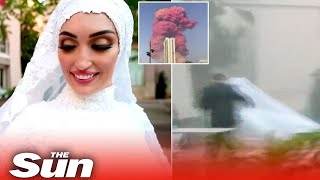Bride Runs For Her Life In Beirut Blast On Her Wedding Day