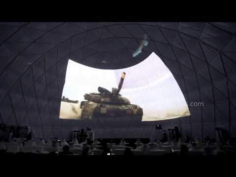 Projection Dome Tent for UAE's National Day - 30m Dia Event Dome