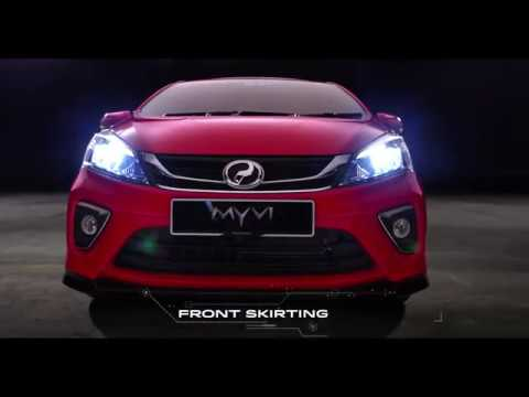 2018 Perodua Myvi Product Video