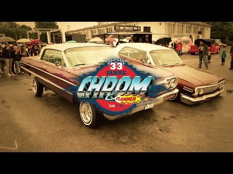 33rd Anniversary Event of the US-Car Magazine CHROM & FLAMMEN