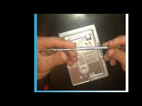 how to remove the hard drive from a pc