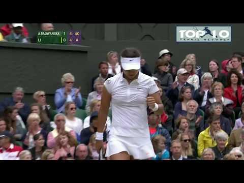 Li Na's Brilliant Backhand (Part 1)