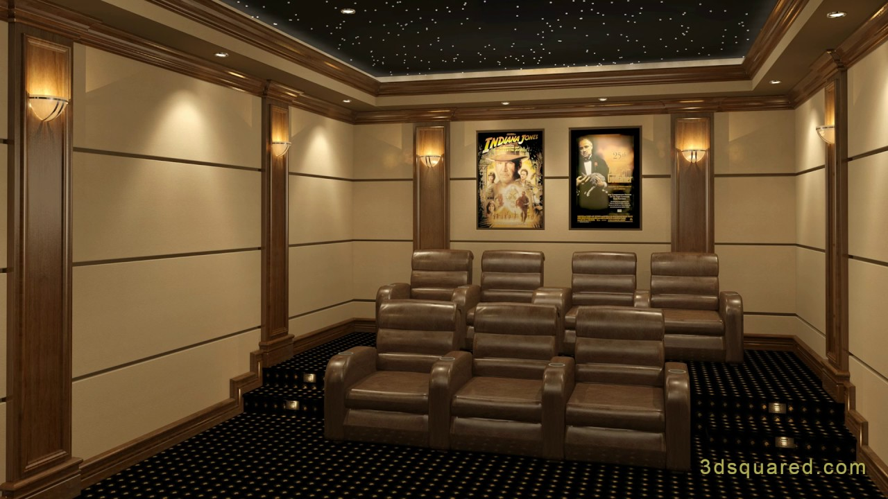 8 Steps To Designing A Successful Home Theater Youtube