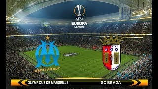 Marseille vs Braga | UEFA Europa League 2018 | PES 2018 Gameplay HD