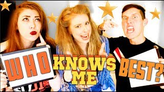 WHO KNOWS ME BETTER | BOOKSPLOSION