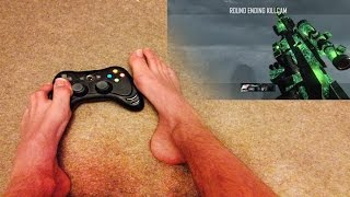 Cod Player Hits Trickshots With His Feet
