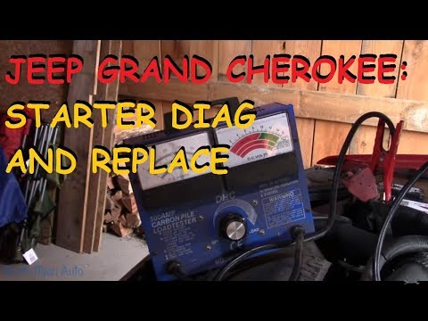 Jeep Grand Cherokee 4.0 - Starter  Replacement DIY