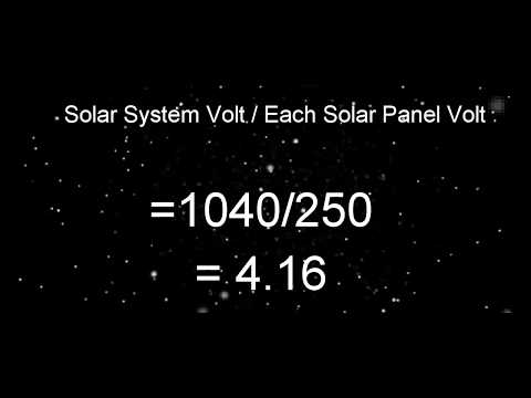 how-to-calculate-solar-panel- -solar-panel- -solar-panel-inverter-selection- -battery-string