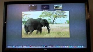 OS X Lion Mission Control MacBook